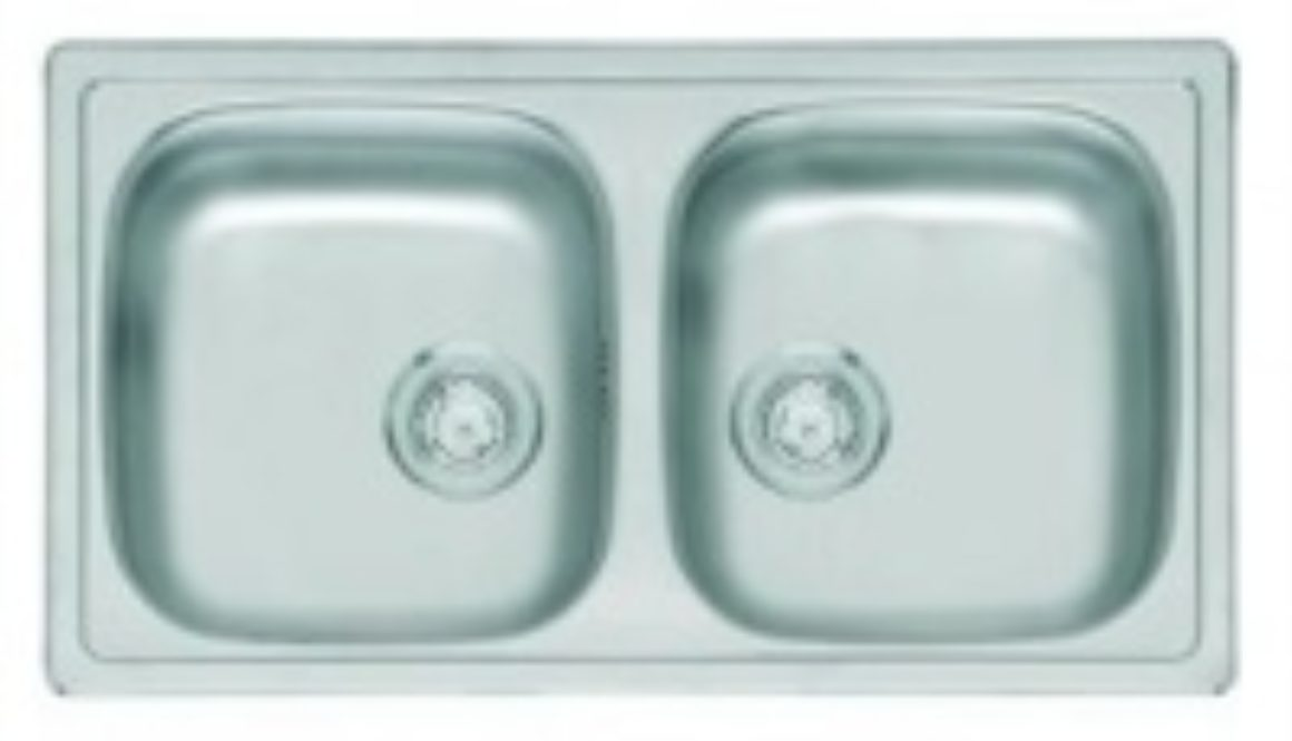 Double Bowl Medical Sink