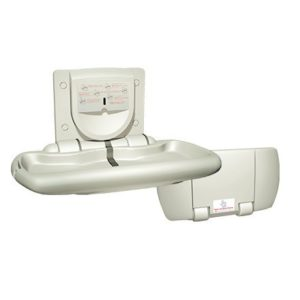 ASI 9012 White plastic baby changing table