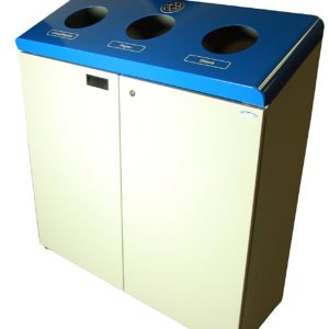 frost recycling station three bins SPH