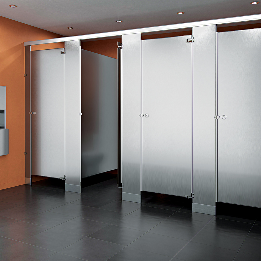 Commercial Stainless Steel Washroom Partitions