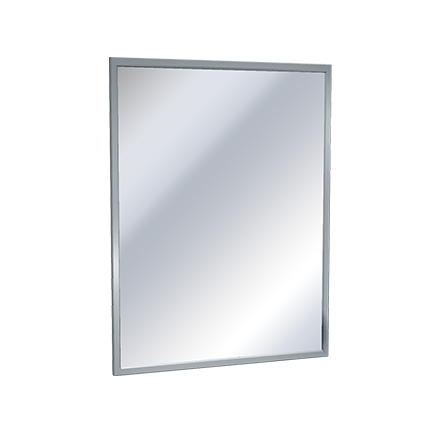 American Specialties (ASI) 0620 Channel Frame Flat Commercial Mirror