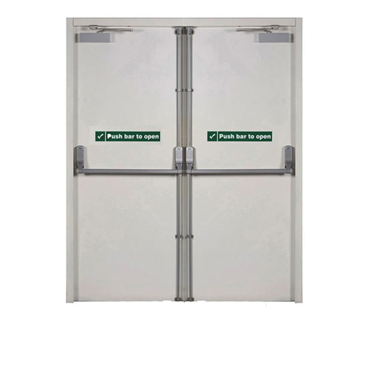 Commercial Fire-Rated Metal Doors