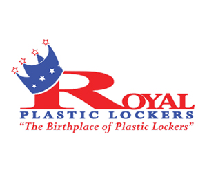 Royal Solid Plastic Lockers