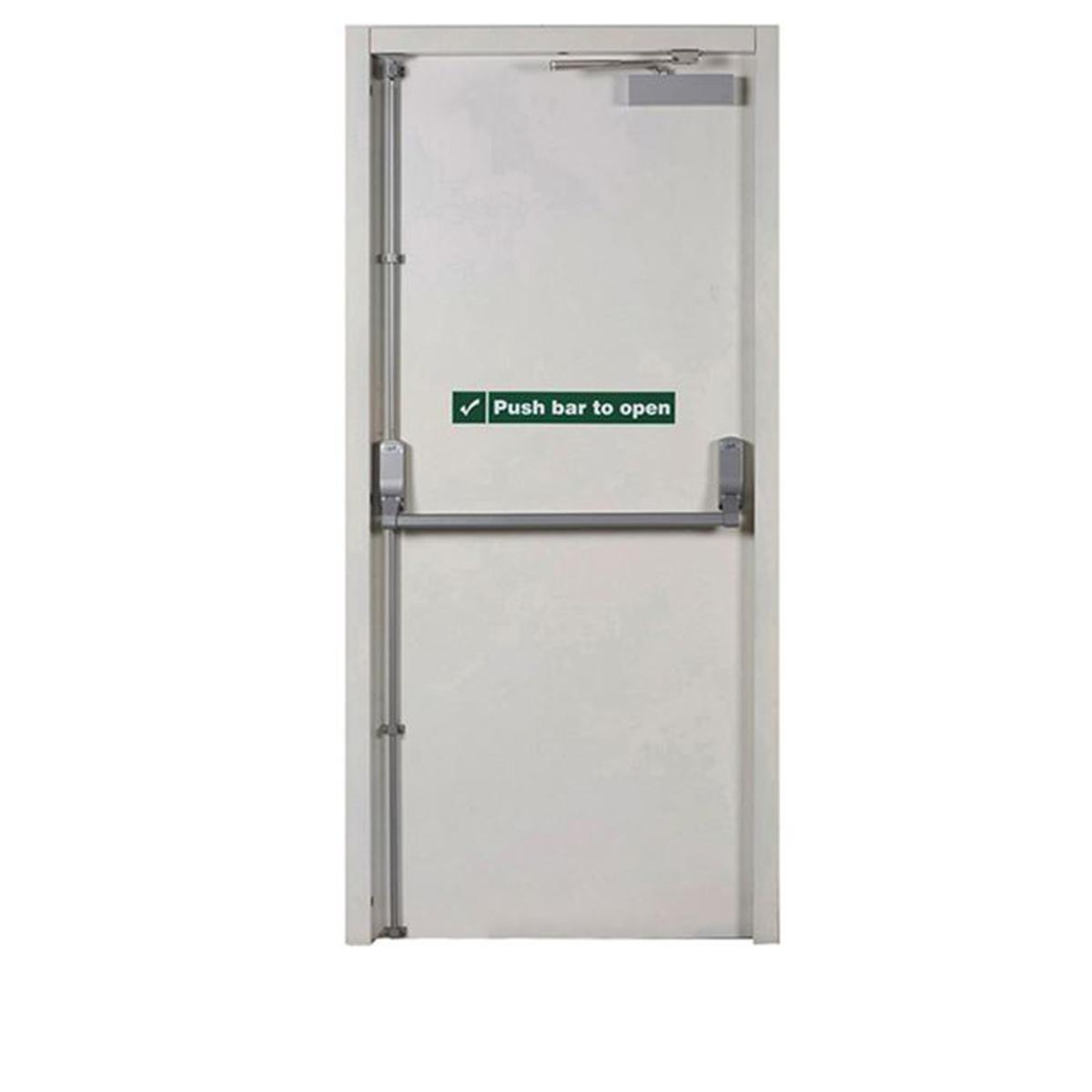 Commercial Metal Security Doors