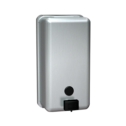 ASI 0347 LIQUID SOAP DISPENSER – VERTICAL – SURFACE MOUNTED - Canada Commercial Soap Dispenser Suppliers