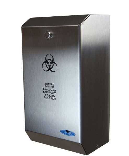 SPH Canada - STAINLESS STEEL BIOMEDICAL SHARPS DISPOSAL