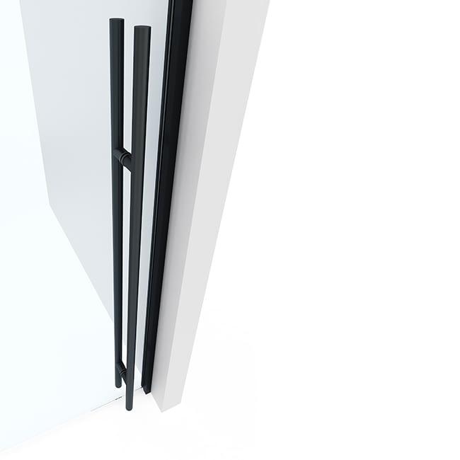 Interior Glass Partition Hardware Option