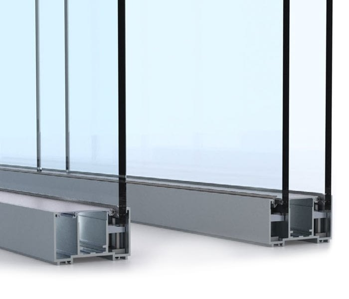Commercial Glass Partitions - Moodwall P4 - Close up