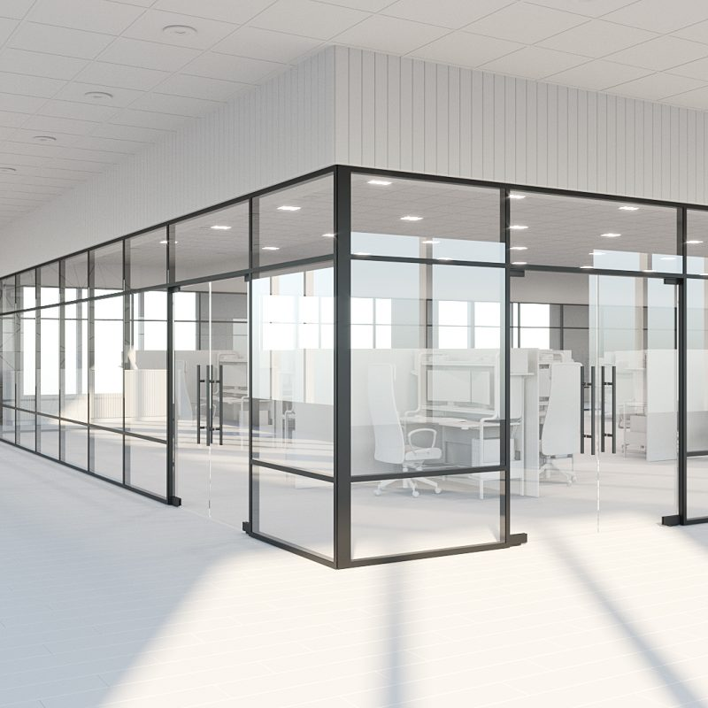 Commercial Glass Partition Systems in Toronto / GTA