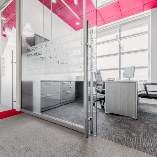 Commercial Glass Partition Systems