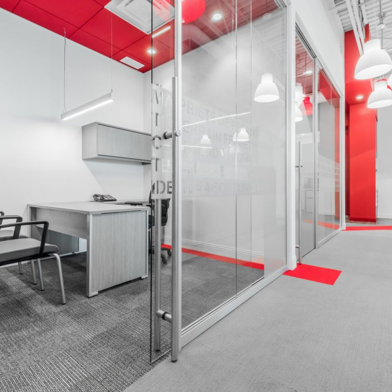 Commercial Glass Wall Systems & Partitions