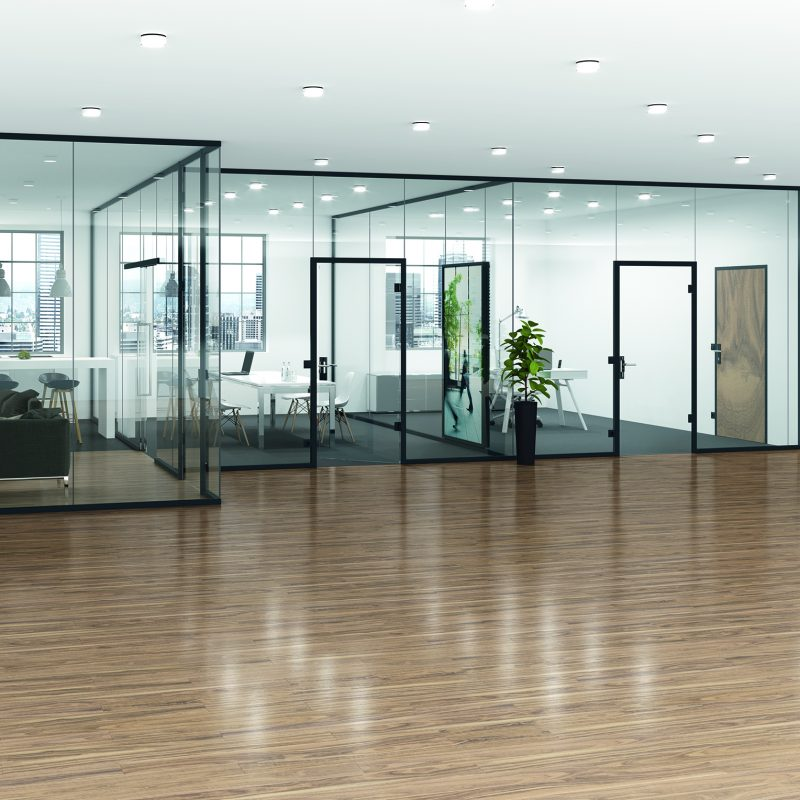 Commercial Fixed Glass Partition Sales in Toronto / GTA